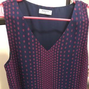 Babaton Murphy blouse in purple